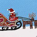 Kityboy Helps Santa by Marilyn Ferguson