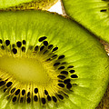 Kiwi Fruit Macro 5 by John Brueske