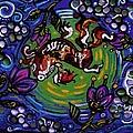 Koi Fish by Genevieve Esson