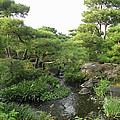 Kokoen Samurai Gardens - Himeji City Japan by Daniel Hagerman