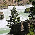 Kootenai Falls In Montana by Carol Groenen