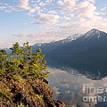 Kootenay Lake In May by Leone Lund
