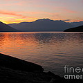 Kootenay Lake September Splendor by Leone Lund
