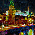 Kremlin Lights by Yury Malkov