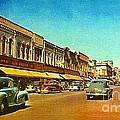Kresge's Department Store In Oshkosh Wi In 1950 by Dwight Goss