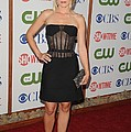 Kristen Bell Wearing A Versus Dress by Everett