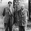 Kurchatov And Ioffe, Soviet Physicists by Ria Novosti