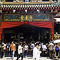 Kwan Im Tong Hood Cho Buddhist Temple In The Bugis Area In Singa by Ashish Agarwal