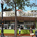 Kwik Way Drive-in Fast Food Restaurant . Oakland California . 7d13521 by Wingsdomain Art and Photography