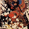 Kyusenpo Sacucho On Black Stallion by Pg Reproductions