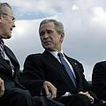L To R Sec. Of Defense Donald Rumsfeld by Everett