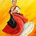 La Danseuse by Brigitte Grange