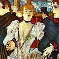 La Goule Arriving At Moulin Rouge by Pg Reproductions