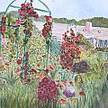La Maison Et Le Jardin De Monet by Donna Walsh