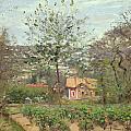 La Maison Rose by Camille Pissarro