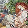 La Pia De Tolomei by Dante Charles Gabriel Rossetti