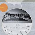 La Poster by Naxart Studio
