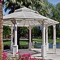 La Quinta Park Gazebo by Linda Dunn
