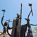La Rogativa Statue Old San Juan Puerto Rico by Shawn O'Brien