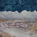 La Sal Mountains In The Snow by Estephy Sabin Figueroa