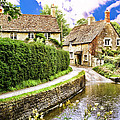 Lacock Village by Wendy White