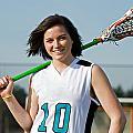 Lacrosse Girl by Jim Boardman