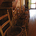 Ladder Backs And Baskets I by Sheri McLeroy