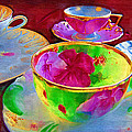 Ladies Tea Time by Kathy Clark