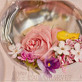 Ladled With Flowers  by Sandra Rossouw