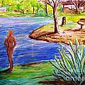 Lady By The Lake by Stanley Morganstein