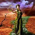 Lady Gaia by Julie L Hoddinott