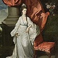 Lady Grant - Wife Of Sir James Grant by Johann Zoffany