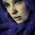 Lady In Blue by Gun Legler