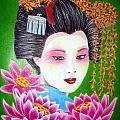 Lady Lotus by Betsy Jones