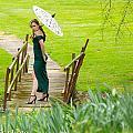 Lady On The Bridge by Kenneth Harris