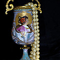 Lady Vase And Pearls by Phyllis Denton