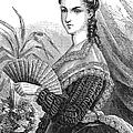 Lady With Fan, C1878 by Granger