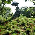 Lady With Umbrella by Sonali Gangane