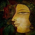 Lady's Face by Raji Chacko