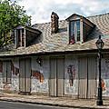 Lafittes Blacksmith Shop Bar New Orleans by Kathleen K Parker