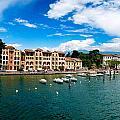 Lago Di Garda In Italy In Early Spring  by U Schade