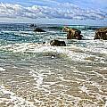 Laguna Beach Coast by Rosanne Nitti