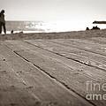 Laguna Beach Walk by Henrik Lehnerer