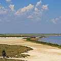 Laguna Madre At Laguna Atascosa by Roena King