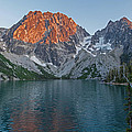 Lake Colchuck Sunset by Mike Reid