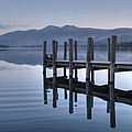 Lake District Jetty by Andy Linden
