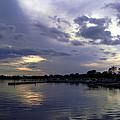 Lake Dora Twilight by Christy Usilton
