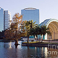 Lake Eola's  Classical Revival Amphitheater by Lynn Palmer