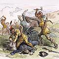 Lake George: Massacre, 1757 by Granger