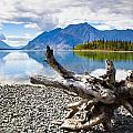 Lake Kathleen In Kluane National Park by Blake Kent